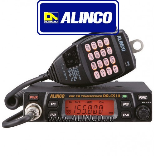 ALINCO DR-CS10 новинка 2018